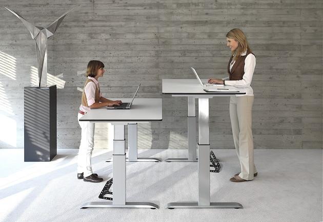 officeplus ergon Arbeiten im Stehen